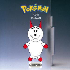 Pokemon (8 Generation) Zangeen