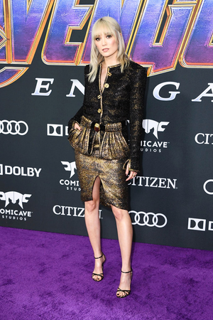 Pom Klementieff at the Avengers: Endgame World Premiere in Los Angeles (April 22nd, 2019)