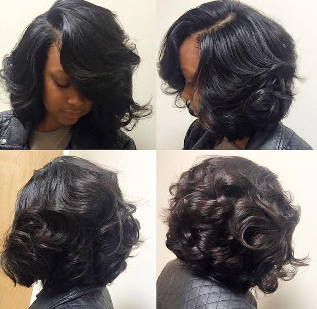 Press And. Curl Hairstyle