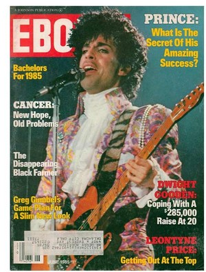 Prince On The Cover Of Ebony