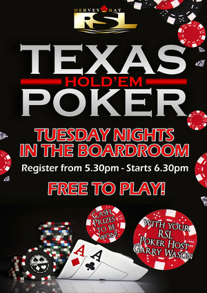 Promo Ad For Texas Poker