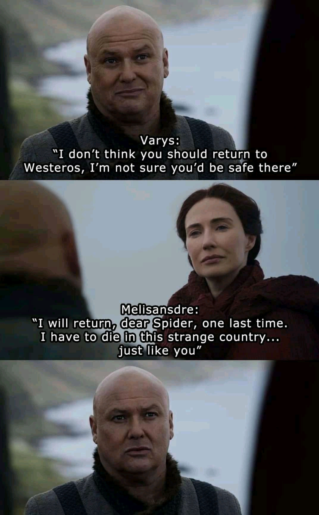Prophecy of Varys' death