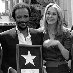 Quincy Jones 1980 Walk Of Fame Induction Ceremony