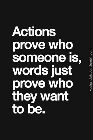 Quote Pertaining To Actions