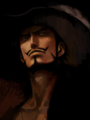 Realistic Mihawk - one-piece fan art