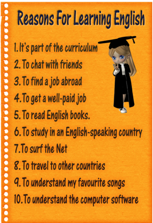 Reasons For Learning English