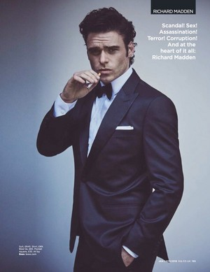 Richard Madden - British GQ Photoshoot - 2019