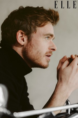 Richard Madden - Elle Photoshoot - 2019