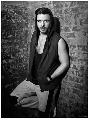 Richard Madden - Flaunt Photoshoot - 2015