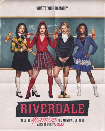 Riverdale (2017 TV series) wallpaper entitled Riverdale - special 'Heathers' episode 3x16 Poster