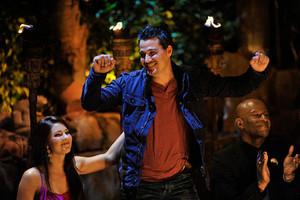 Rob winning Survivor: Redemption Island