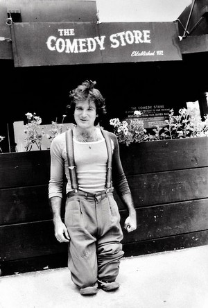 Robin BTS of Mork and Mindy