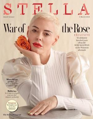 Rose McGowan - Stella Magazine 2019