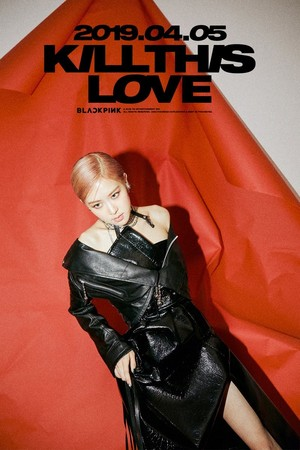 "Rose teaser image for ""Kill This Love"""