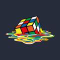 Rubik's Cube Melting