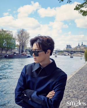 SUHO FOR SINGLES MAGAZINE APRIL ISSUE