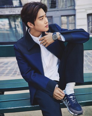SUHO for Singles Magazine 2019 (SCAN)