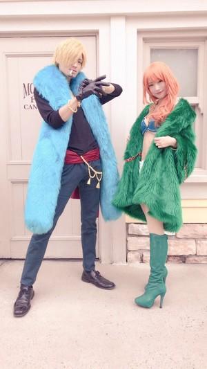 Sanji and Nami cosplay