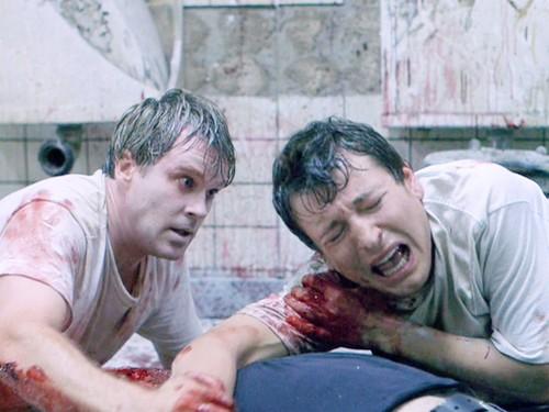 film horror wallpaper entitled Saw (2004)