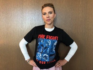Scarlett Johansson for The Solutions Project