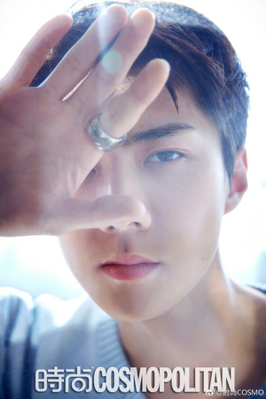 Sehun COSMOPOLITAN China April 2019