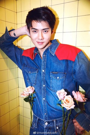 Sehun for COSMOPOLITAN China on 2019