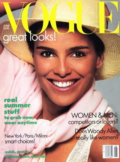 Shari Belafonte On The Cover Of Vogue