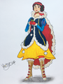 Snow White's Winter Outfit - snow-white-and-the-seven-dwarfs fan art