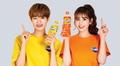 Somi and Daehwi for Fanta - jeon-so-mi photo