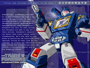 Soundwave G1 프로필
