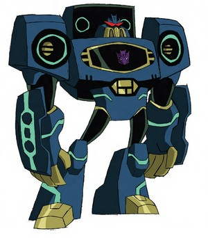Soundwave Transformers Animated