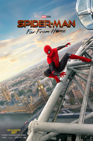 Spider-Man: Far From ホーム posters (2019)
