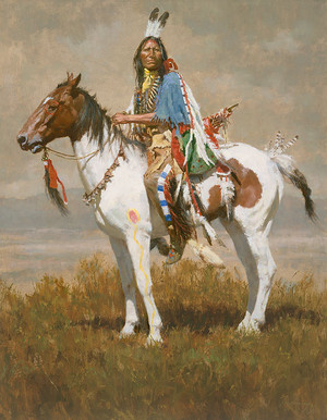 Spirit Of The Plains 의해 Howard Terpning