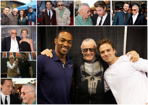 Stan Lee and the Avengers