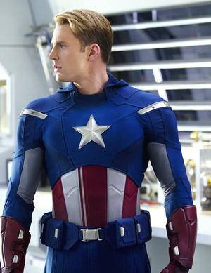 Steve Rogers plus Captain America Suits