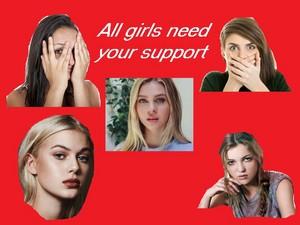 Support Girls 壁紙