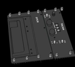 TACAN panel for VFH-10 Auroran