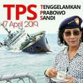 TPS ANTI PRABOWO SANDI - indonesia fan art