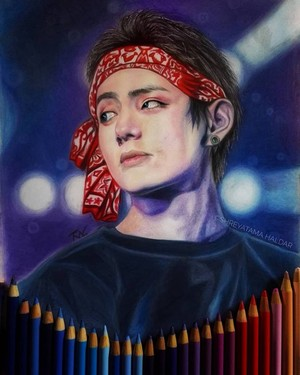Taehyung/V Fan Art