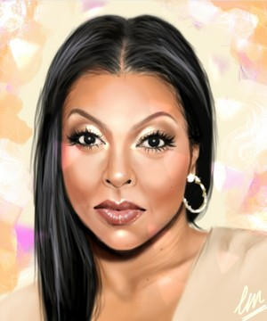 Taraji p Henson digital portrait