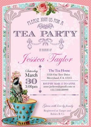 chá Party Invite 🌺