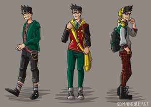 Teen Titans Casual Wear