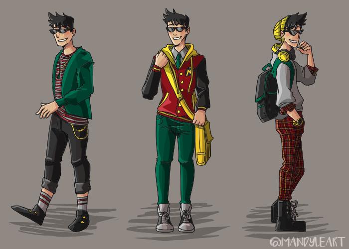 Teen Titans Casual Wear
