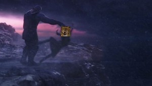 Thanos tosses Kate