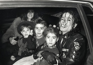 The Cascio Family On Tour With Michael