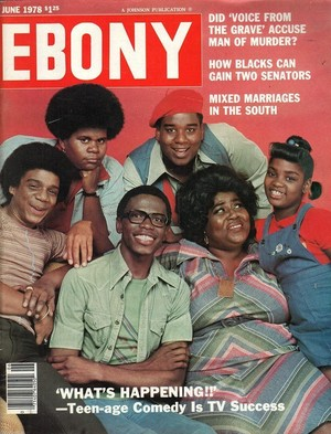 The Cast Of What's Happening On The Cover Of Ebony