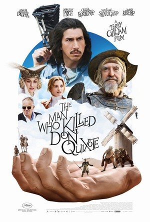 The Man Who Killed Don Quixote - official US release poster 1