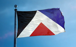 The Red Peak Flag