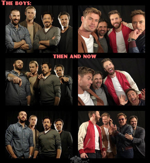 The boys ~2012 and 2019