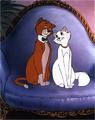 Thomas and Duchess - the-aristocats photo